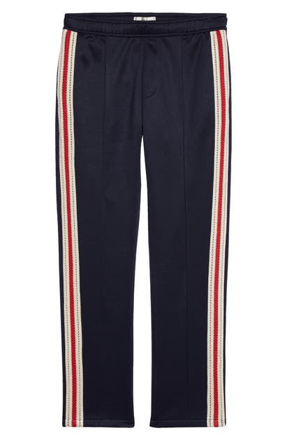 Wales Bonner STRIPE TRIM TRACK PANTS