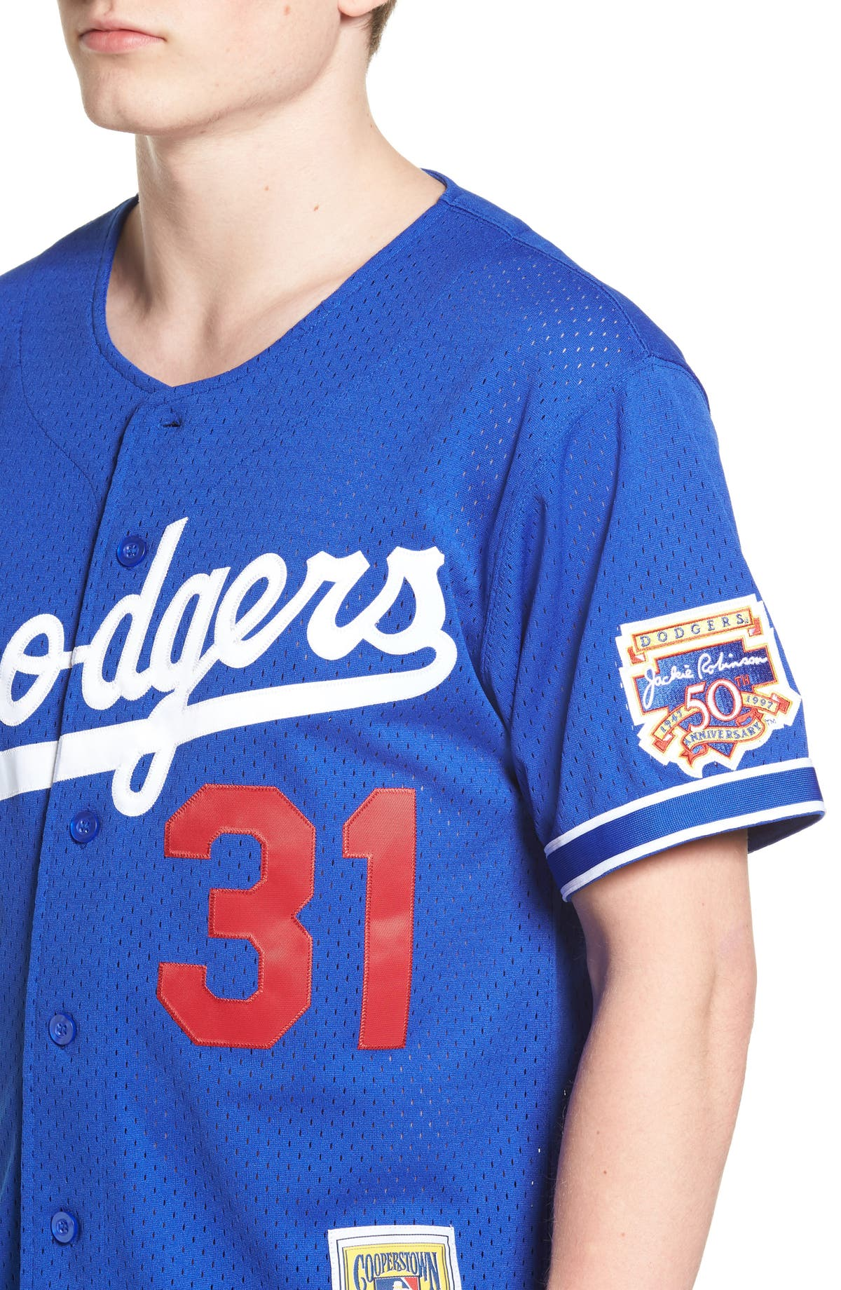 best loved 25dbd 9f4b2 Mitchell & Ness Mike Piazza - Los Angeles Dodgers Authentic ...