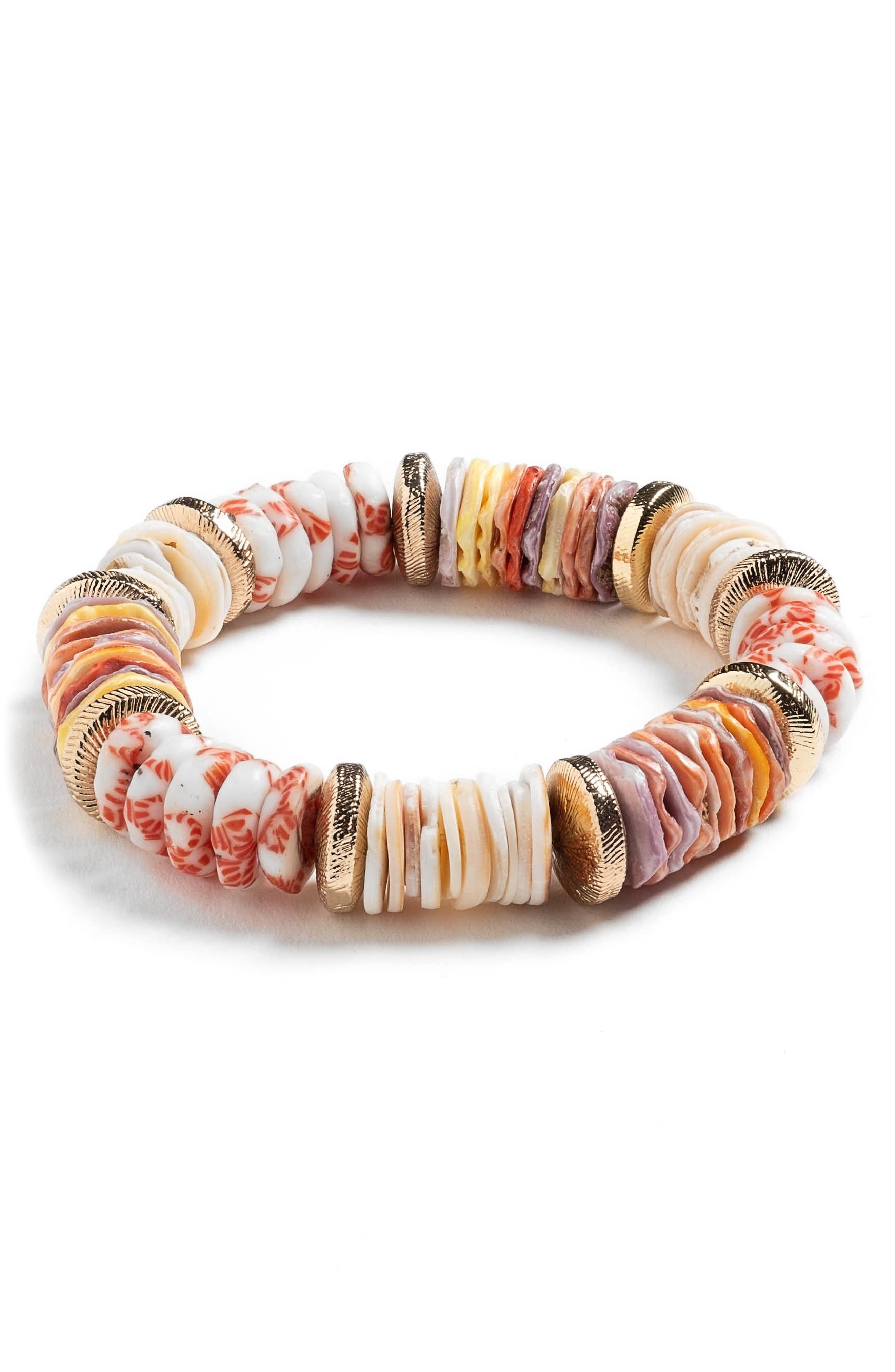 Elora Beaded Stretch Bracelet