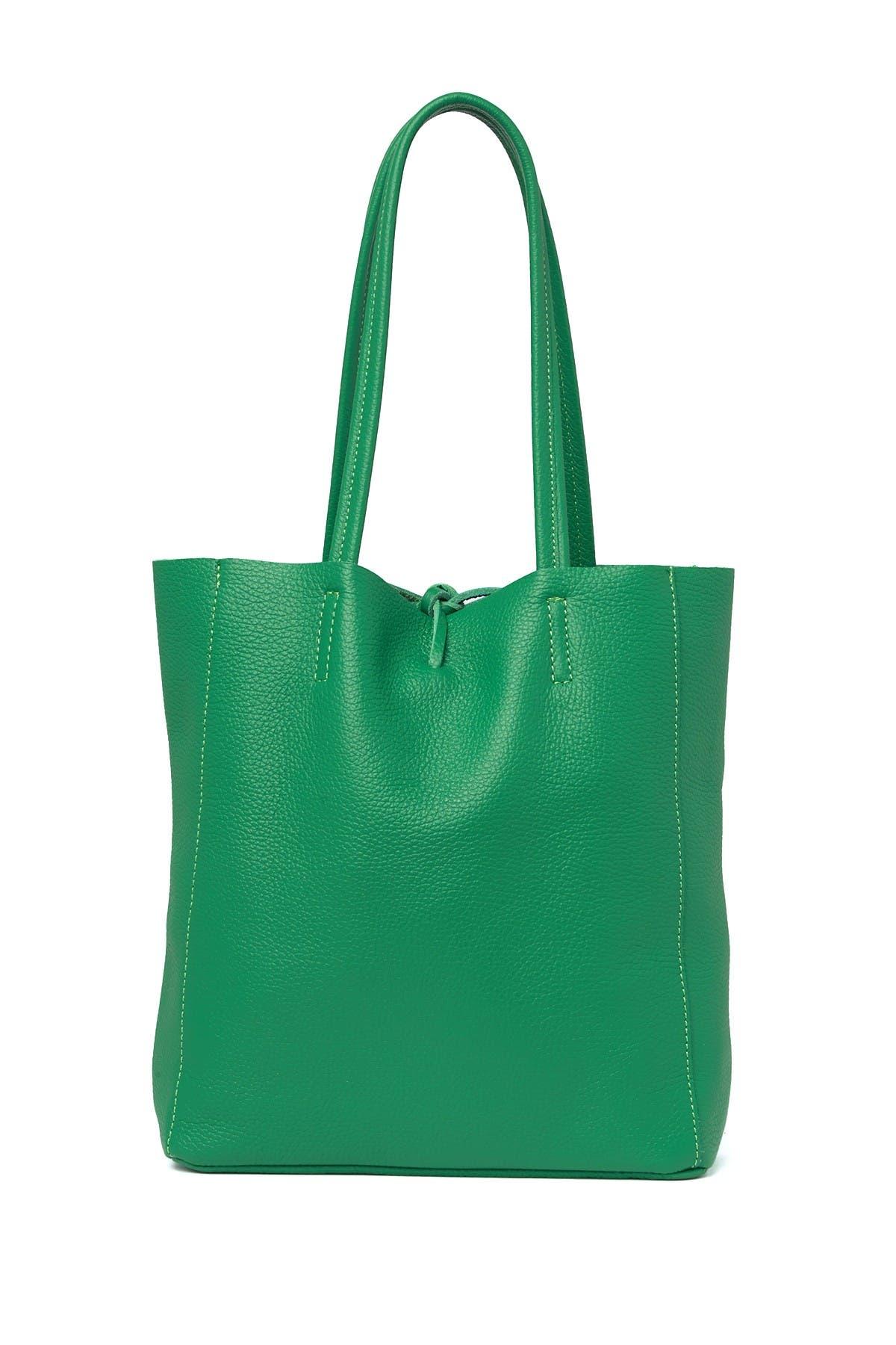 Image of Sofia Cardoni Leather Tote Bag