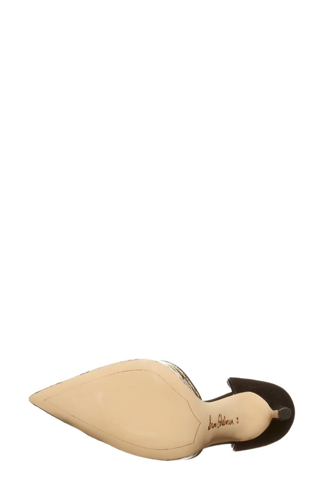 ,                             'Delilah' Calf Hair d'Orsay Pump,                             Alternate thumbnail 38, color,                             100