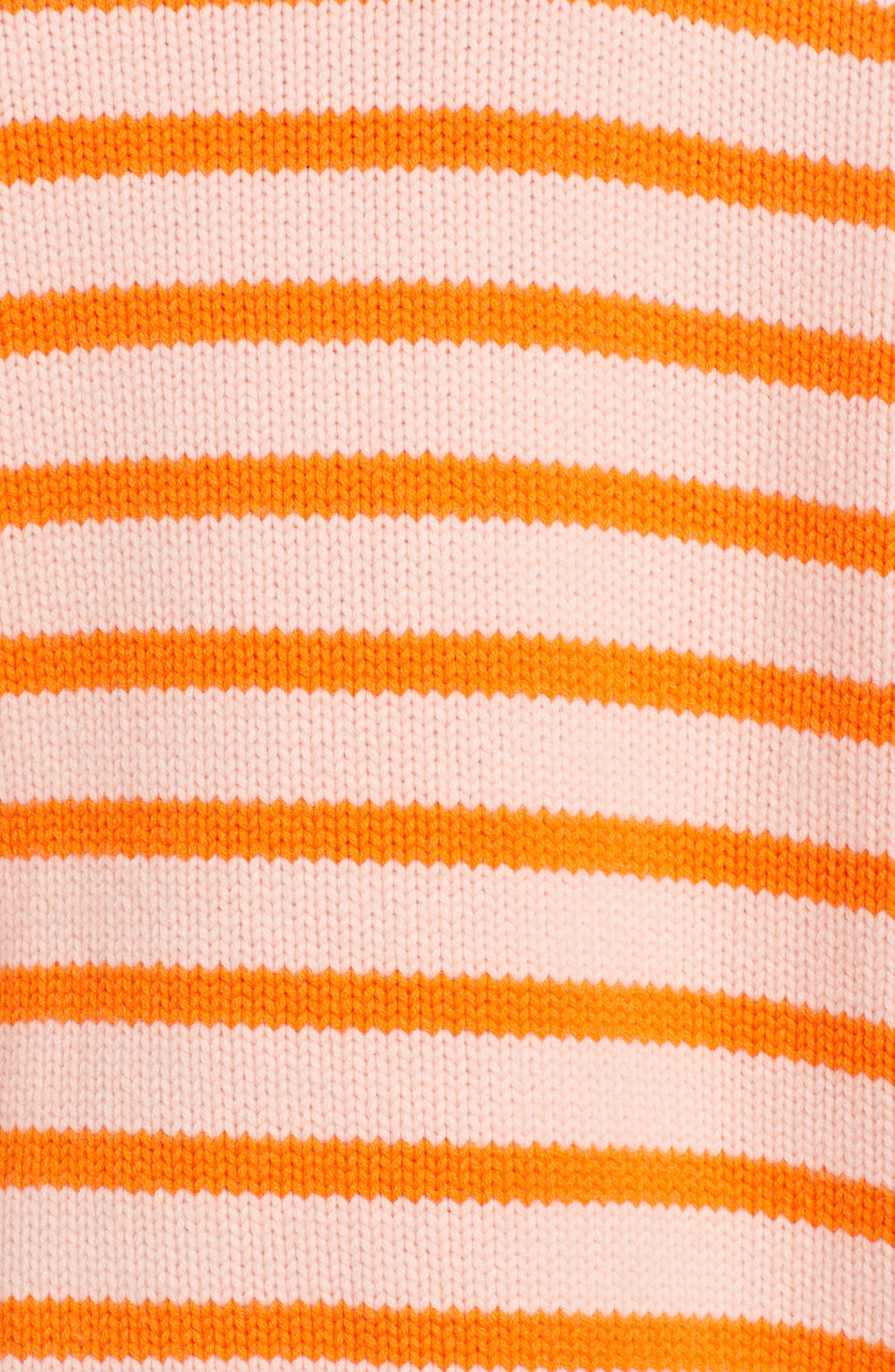 ,                             Marin Wool & Cashmere Sweater,                             Alternate thumbnail 5, color,                             PEACH/ ORANGE