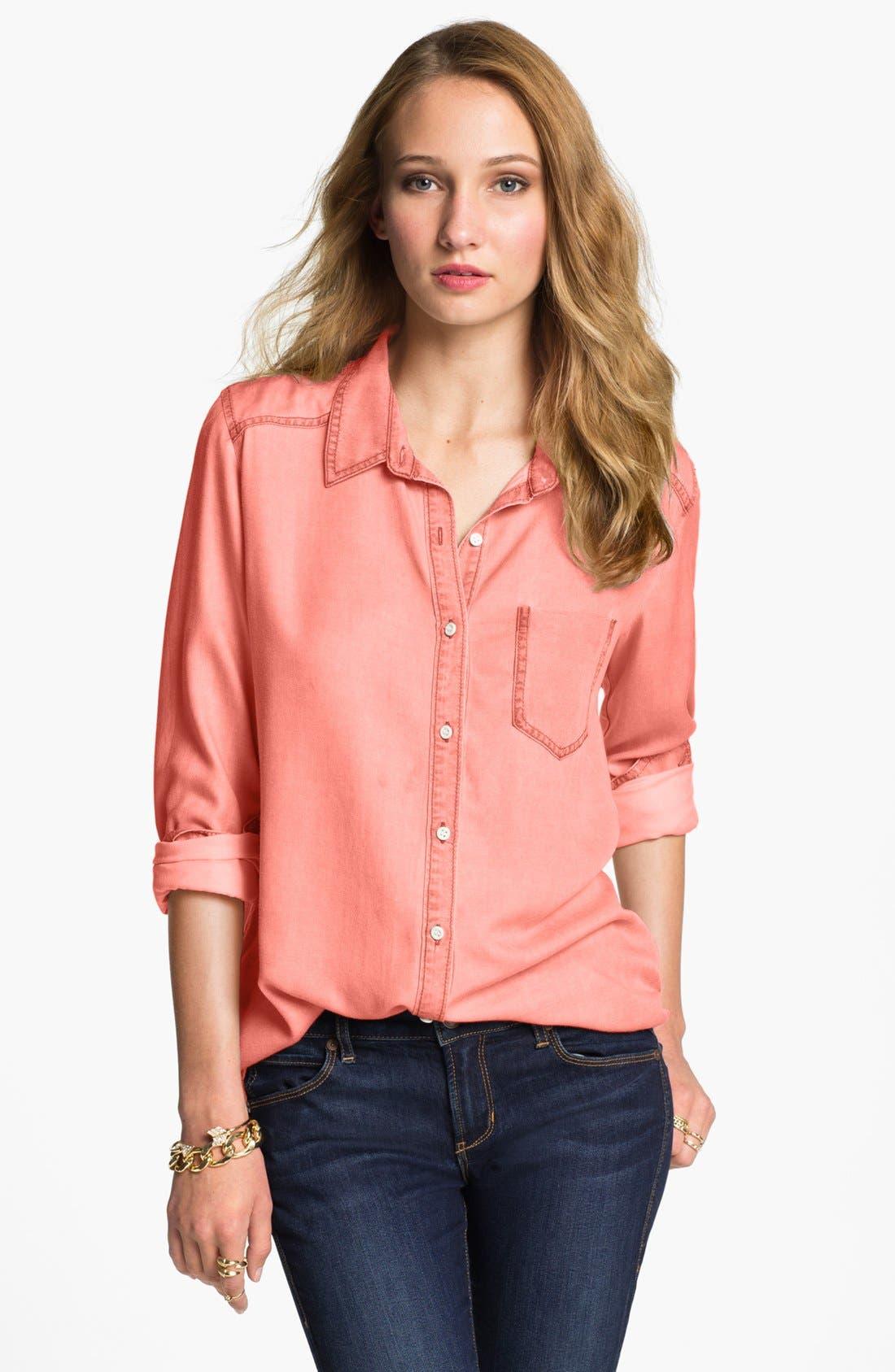 ,                             Rubbish Oversized Menswear Shirt,                             Main thumbnail 14, color,                             610