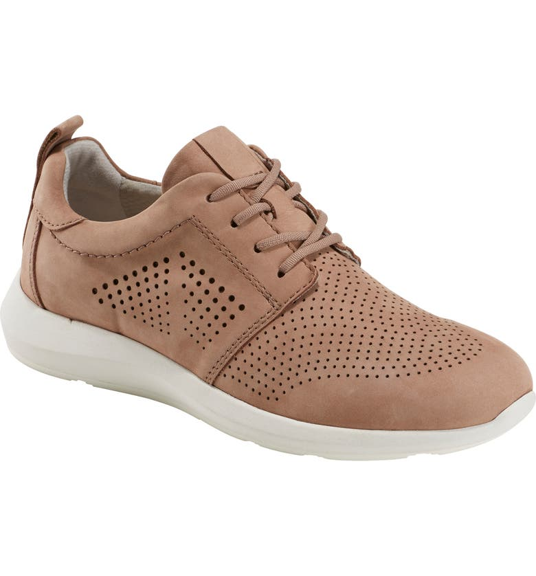 EARTH<SUP>®</SUP> Flux Sneaker, Main, color, DARK BLUSH NUBUCK LEATHER
