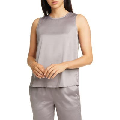 Eileen Fisher Recycled Polyester Tank, Beige
