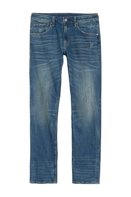 Image of Vigoss Slim Straight Leg Jeans