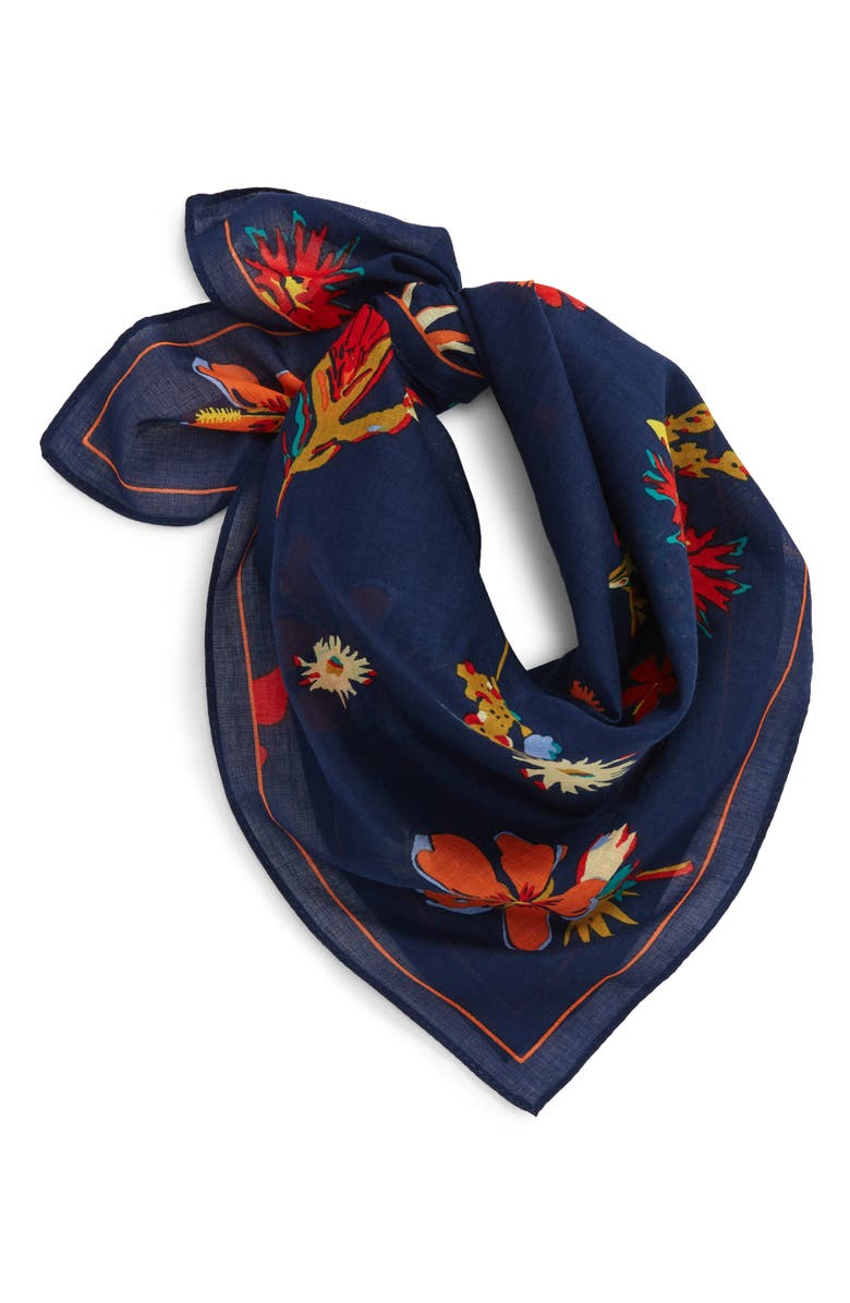 MADEWELL Bandana, Main, color, MIRAGE BLUE MULTI