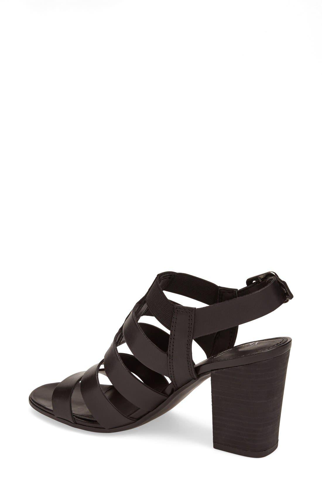 ,                             'Montage' Leather Sandal,                             Alternate thumbnail 2, color,                             001