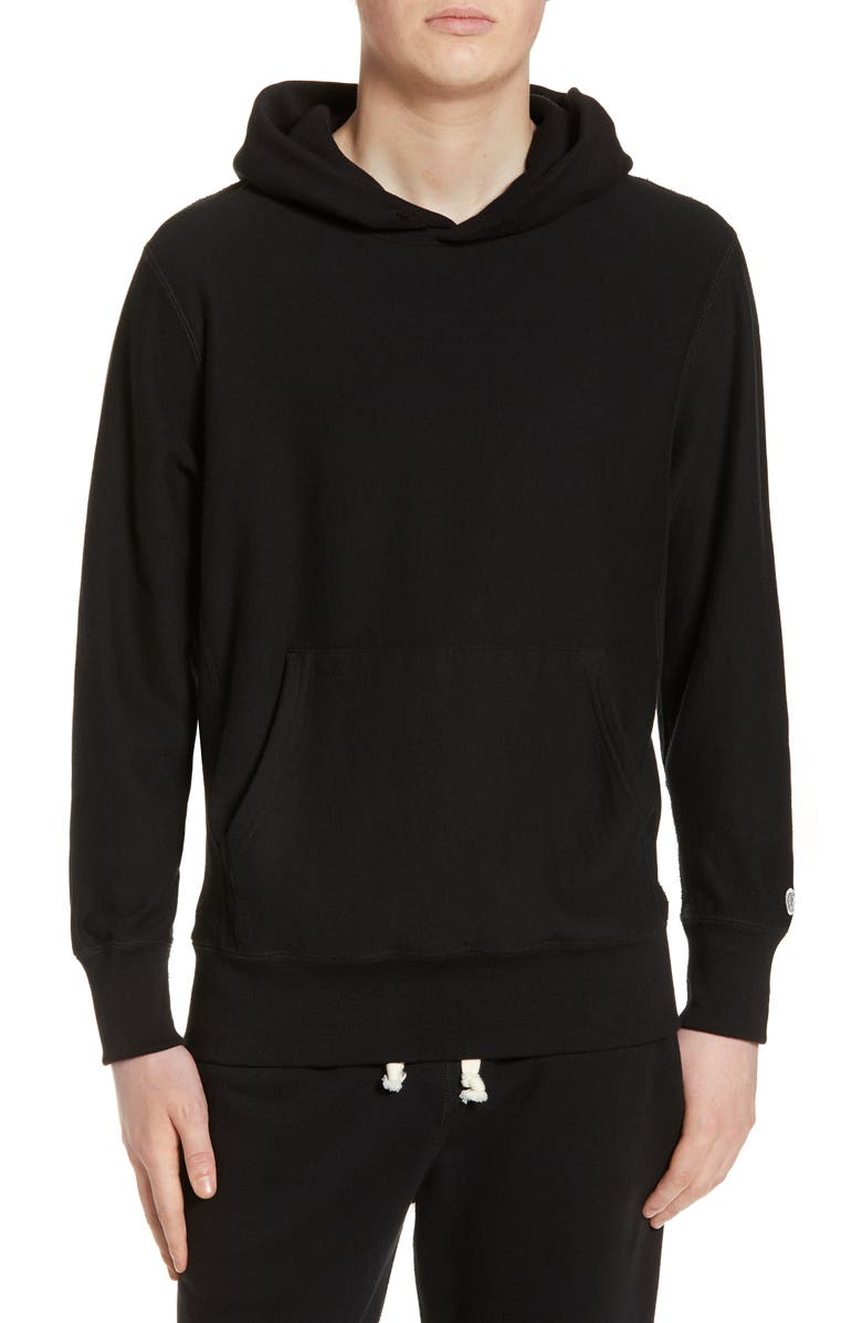 TODD SNYDER + CHAMPION Popover Hoodie, Main, color, BLACK