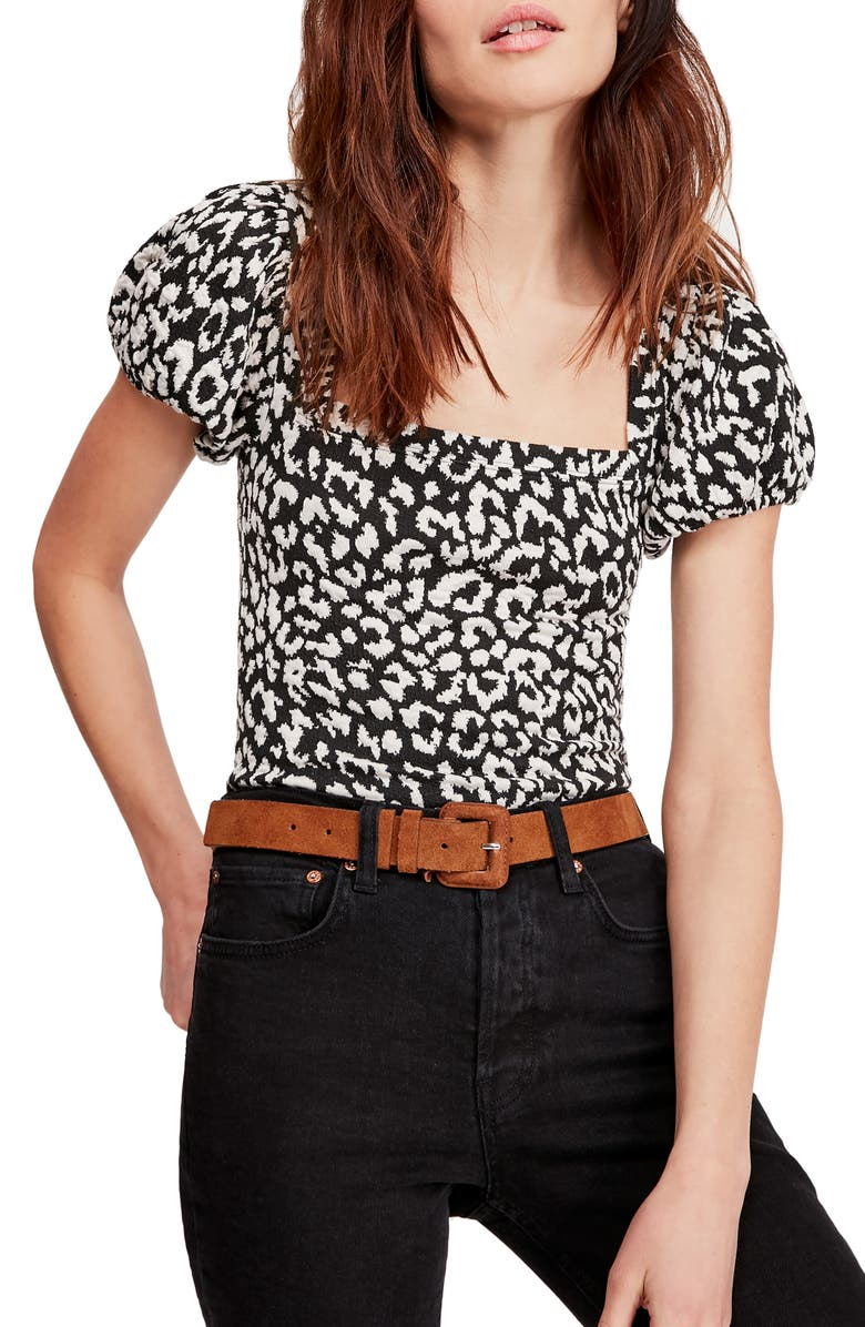 FREE PEOPLE No Type Top, Main, color, BLACK