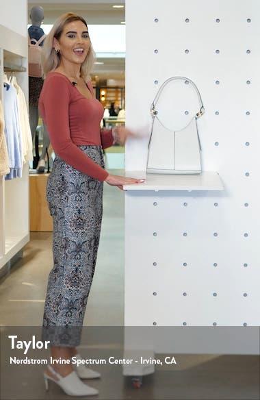 Ivy Faux Leather Shoulder Bag, sales video thumbnail