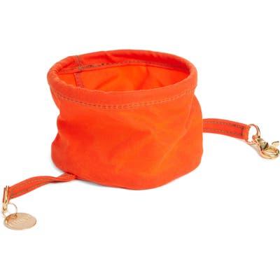 Found My Animal Collapsible Cat/dog Bowl, Size One Size - Orange