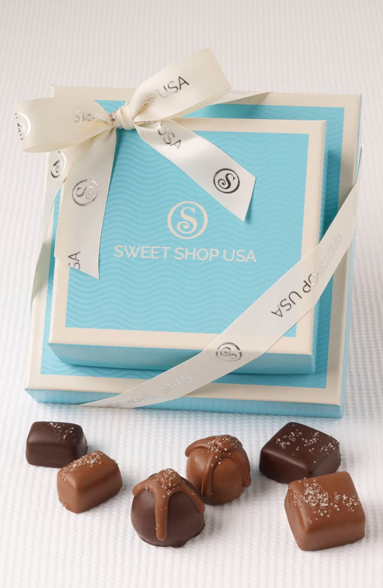 SWEET SHOP USA 14-Piece Assorted Chocolates Everyday Box, Main, color, BLUE