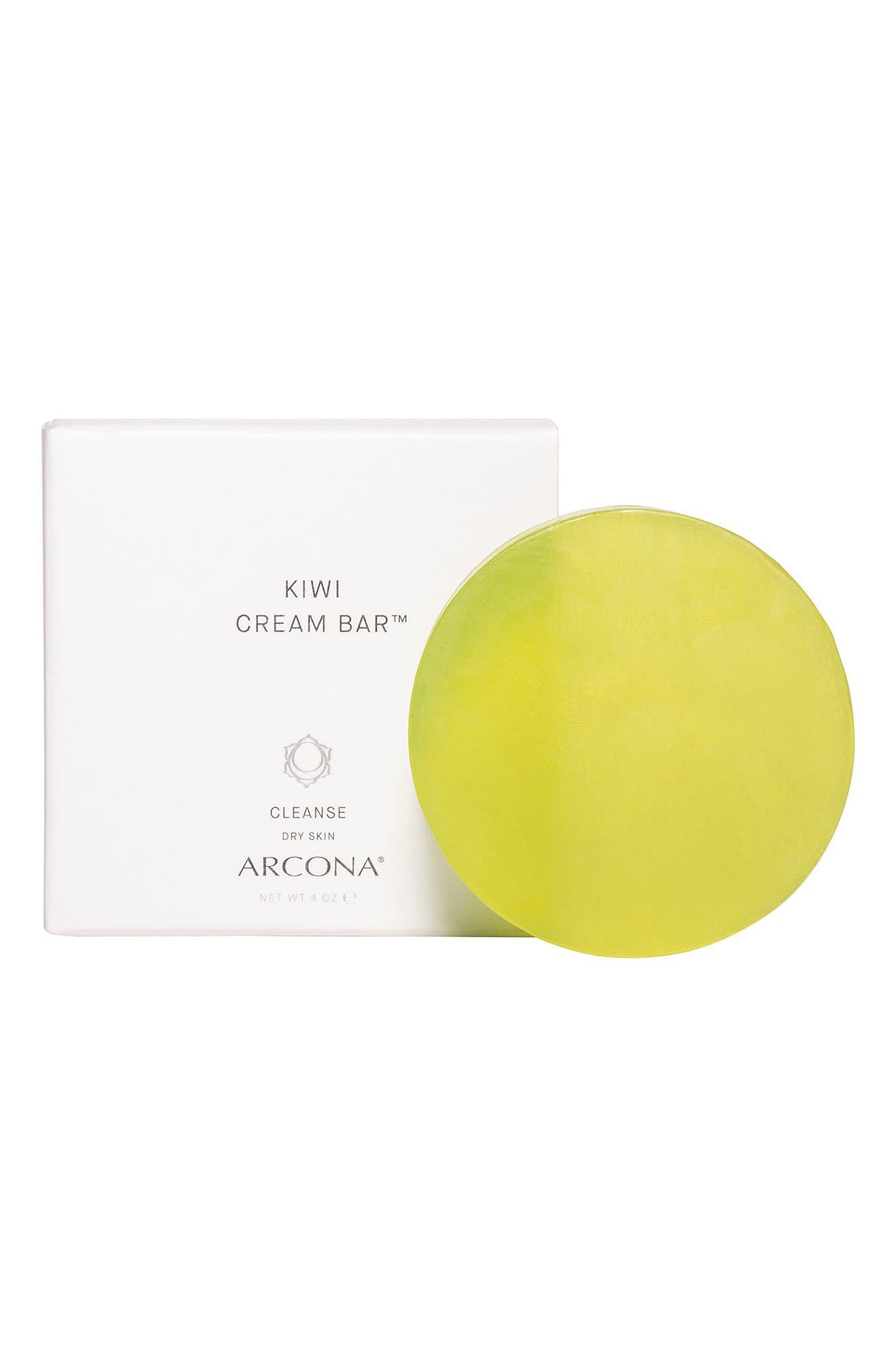 Kiwi Cream Bar Facial Cleanser