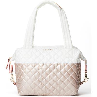 Mz Wallace Medium Sutton Bag - White