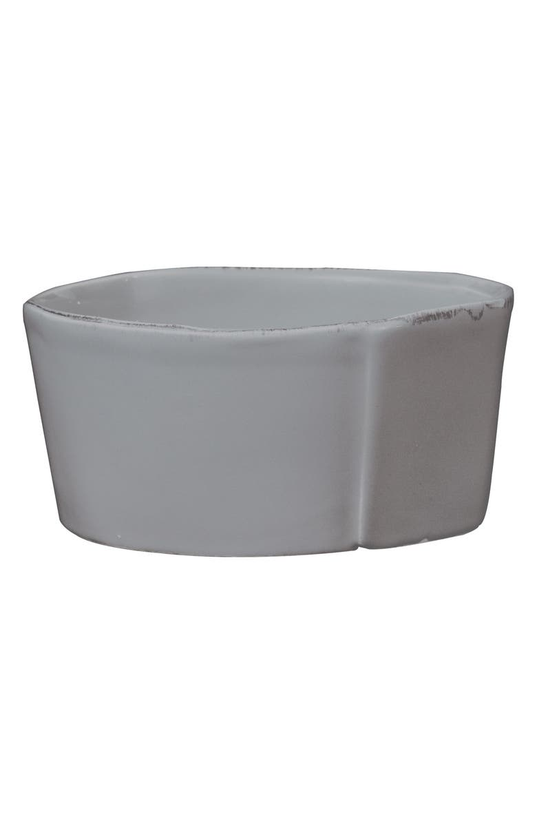 VIETRI Lastra Serving Bowl, Main, color, GRAY - MEDIUM