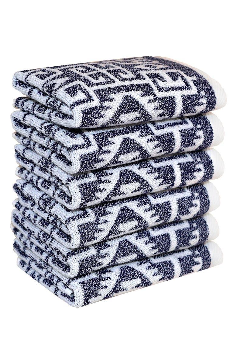 LINUM HOME TEXTILES Linum 'Kula' Turkish Cotton Washcloths, Main, color, 400