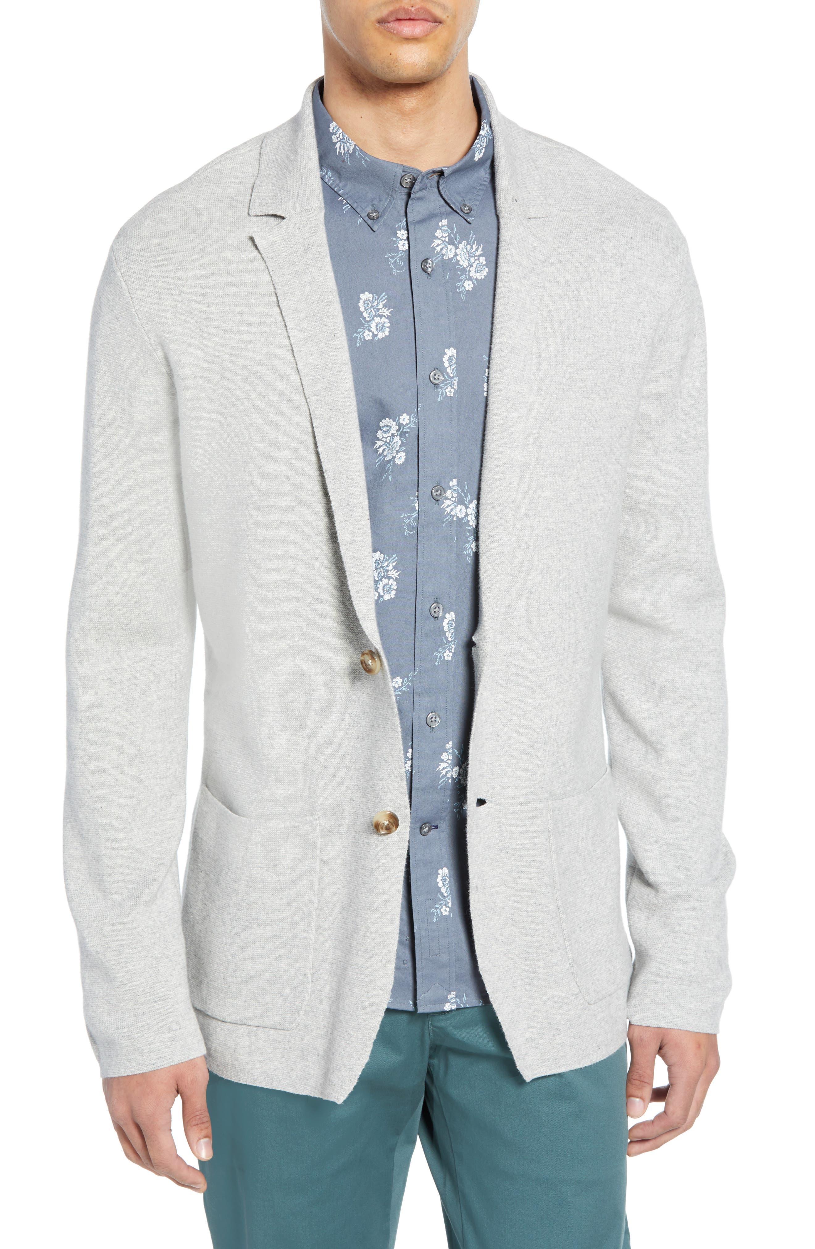 Club Monaco Trim Fit Sweater Blazer