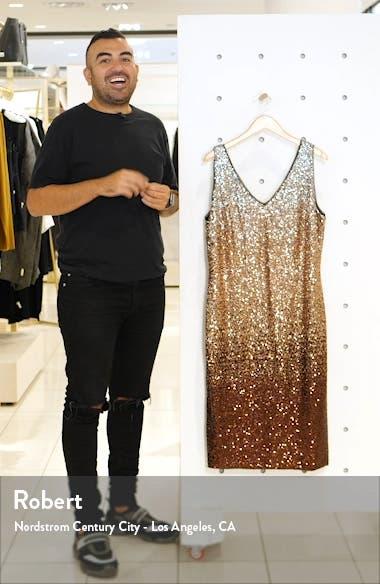 Karine Sequin Sheath Dress, sales video thumbnail