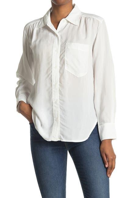 Image of Stateside Cupro Oversized Pocket Shirt