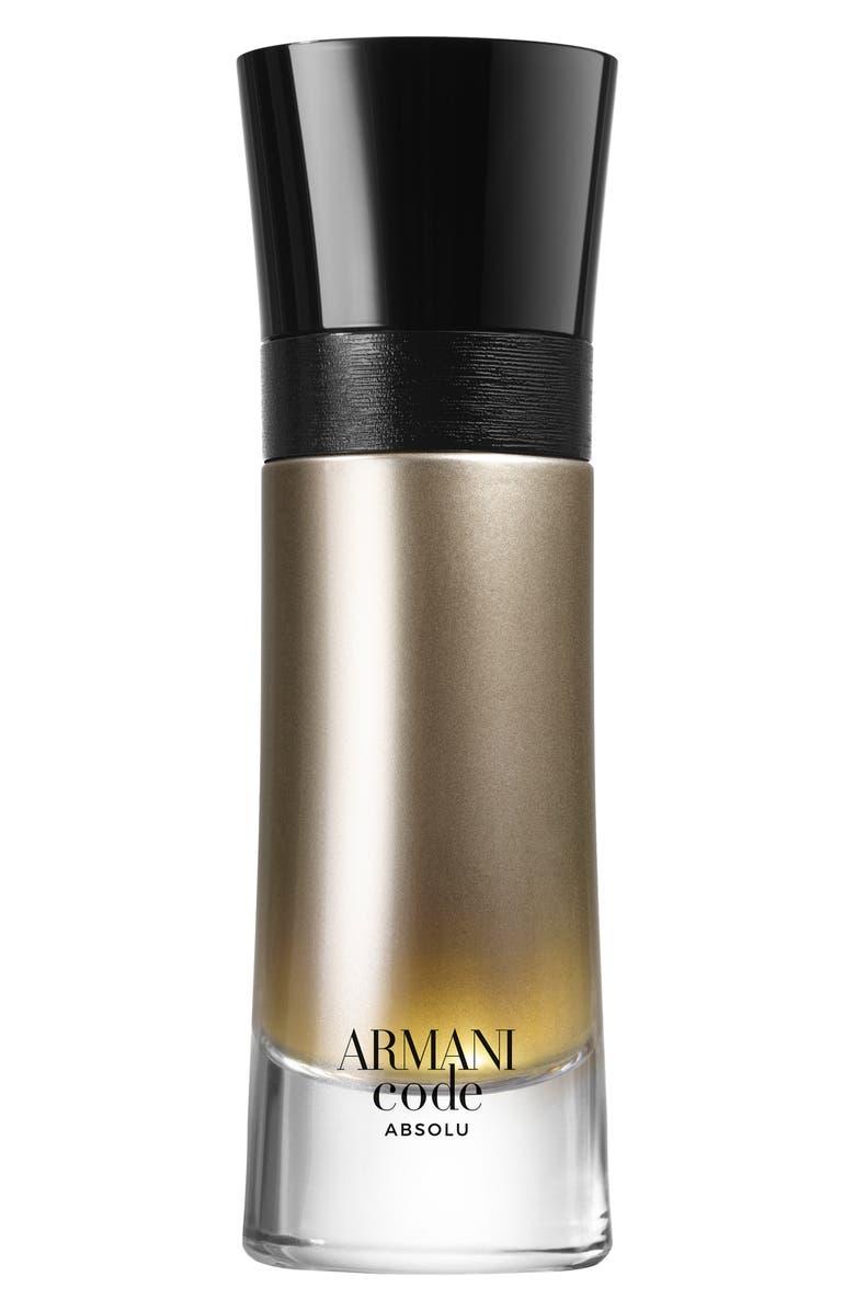 GIORGIO ARMANI Armani Code Absolu Fragrance, Main, color, 000