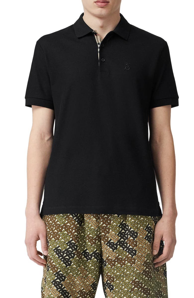 Eddie Piqué Polo by Burberry