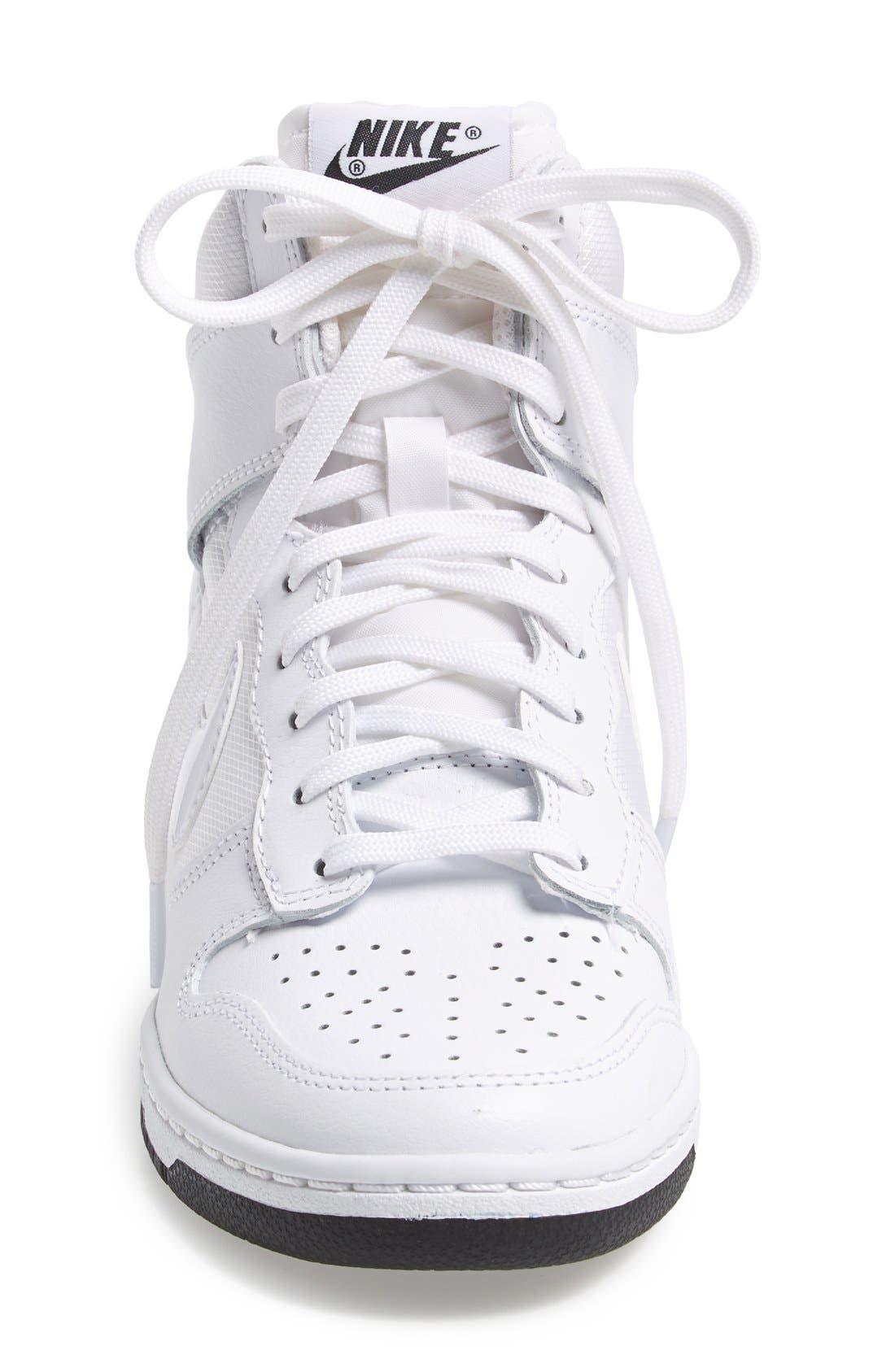 ,                             'Dunk Sky Hi - Essential' Wedge Sneaker,                             Alternate thumbnail 36, color,                             101