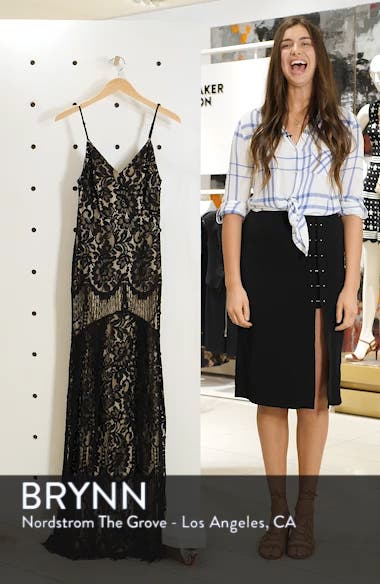 Flynn Lace Gown with Train, sales video thumbnail
