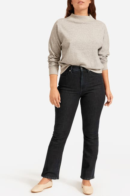 Image of EVERLANE The Authentic Stretch Skinny Bootcut Jeans
