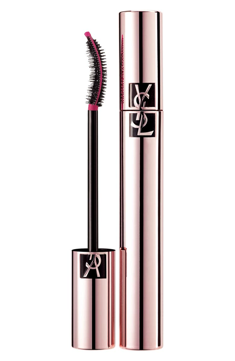 YVES SAINT LAURENT Le Curler Mascara Volume Effet Faux Cils, Main, color, NOIR OMBRE