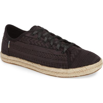 Toms Lena Espadrille Sneaker B - Black