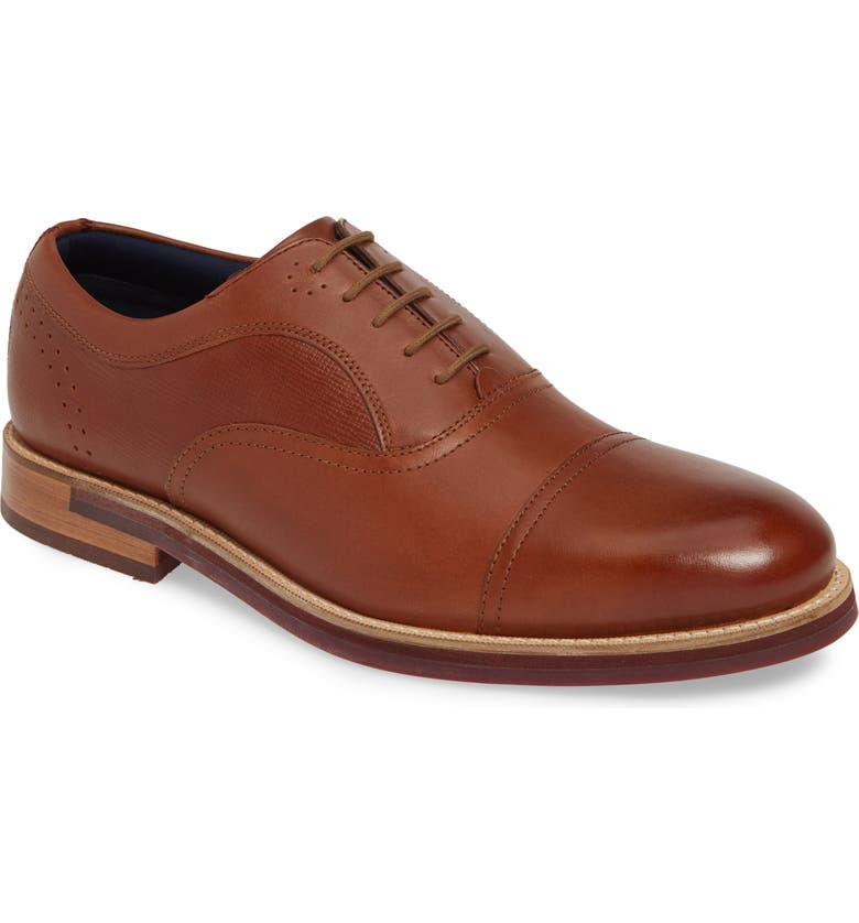 TED BAKER LONDON Quidion Cap Toe Oxford, Main, color, 204