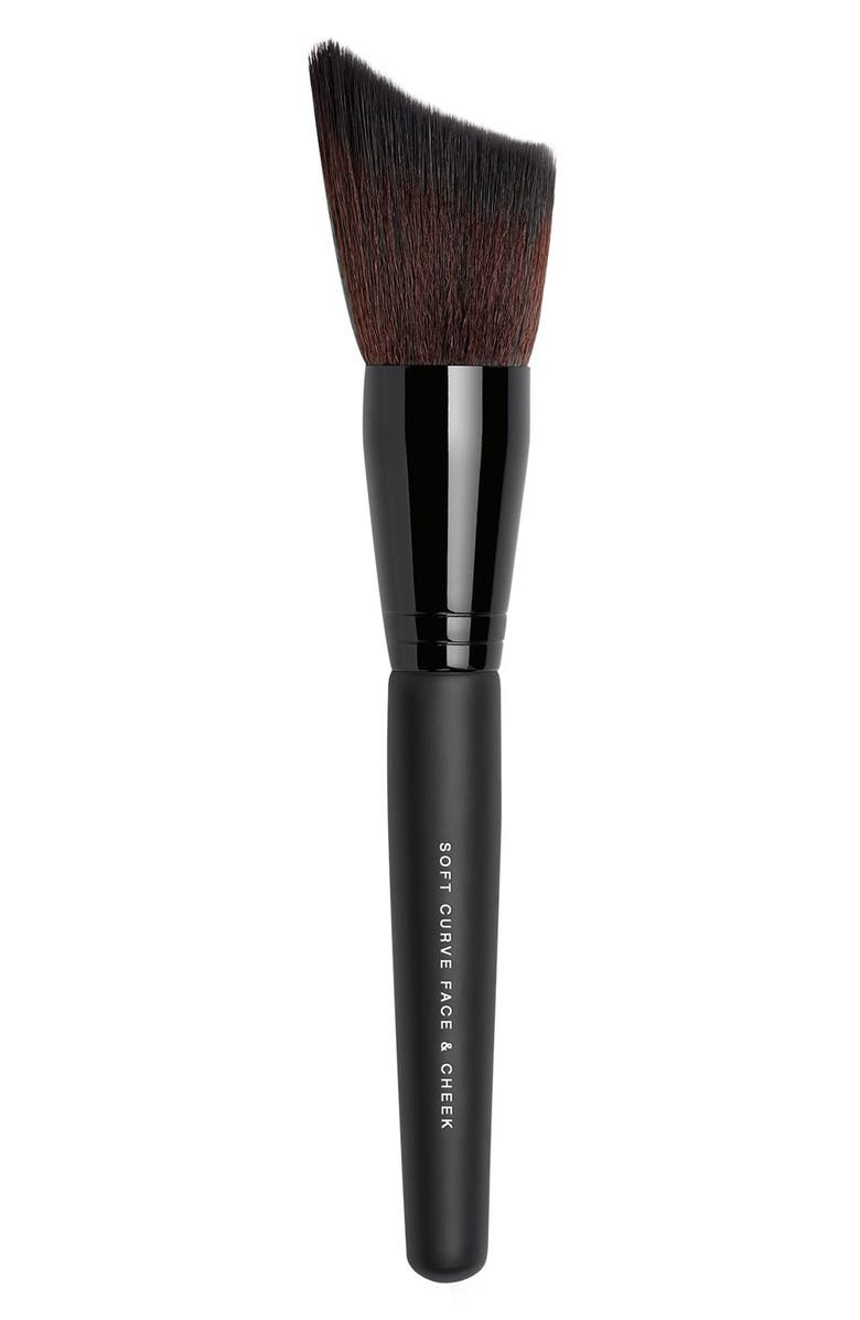 BAREMINERALS<SUP>®</SUP> Soft Curve Face & Cheek Brush, Main, color, NO COLOR