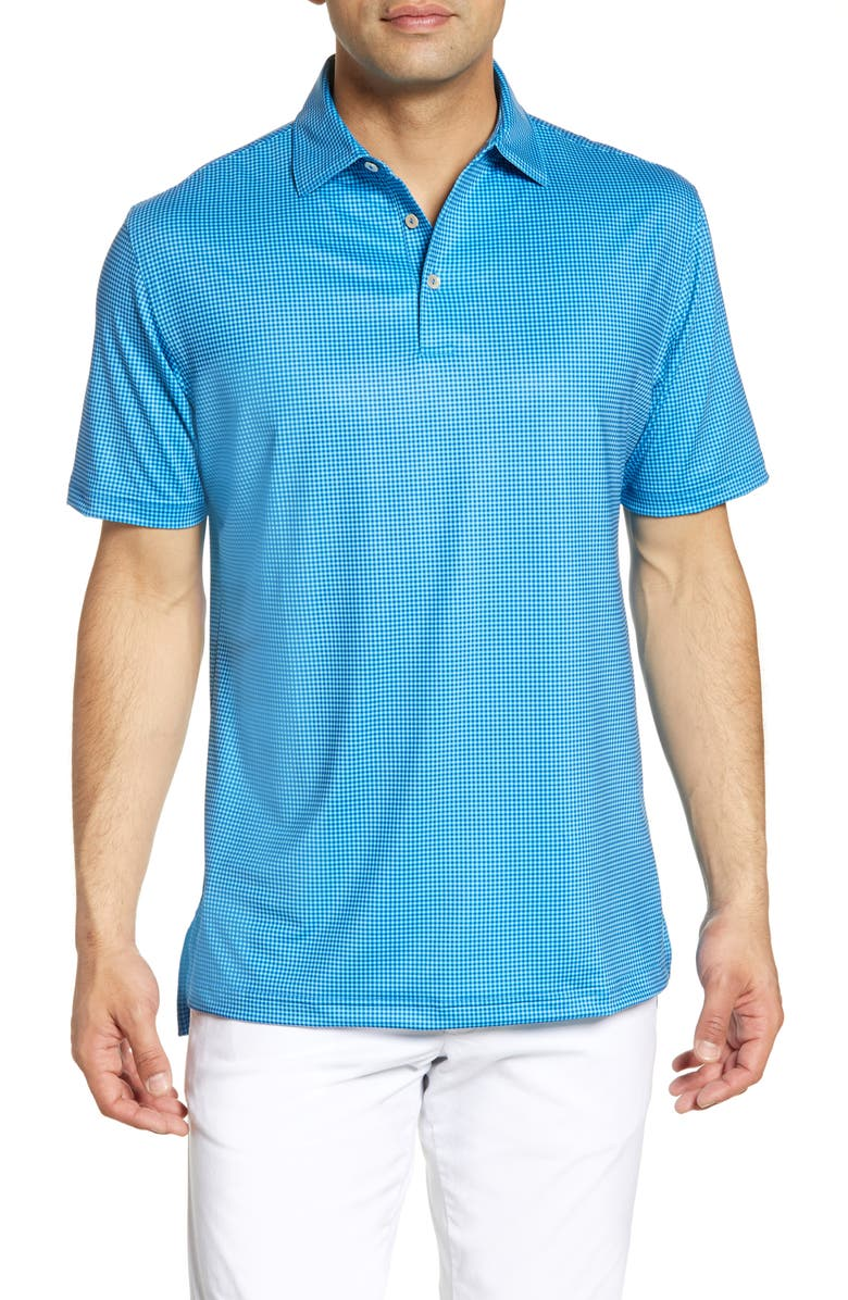 PETER MILLAR Stanbury Gingham Polo, Main, color, 401