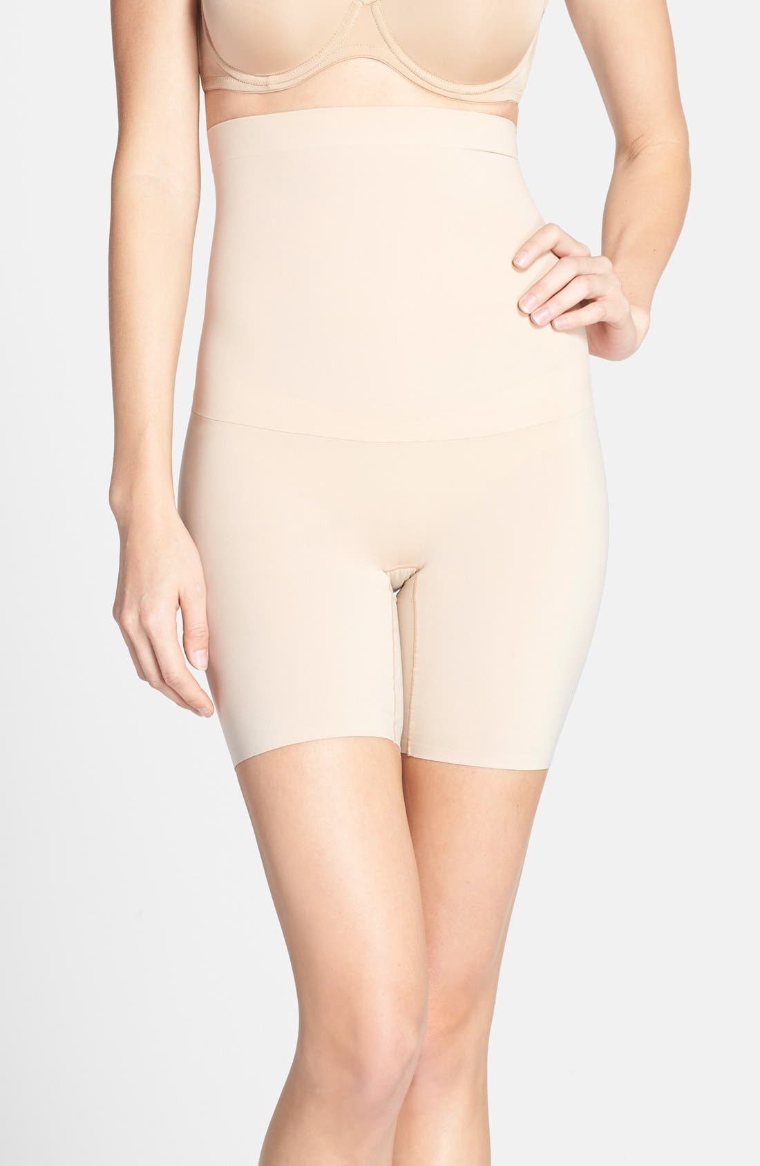 Image of SPANX Shape My Day High Waist Mid Thigh Shaper