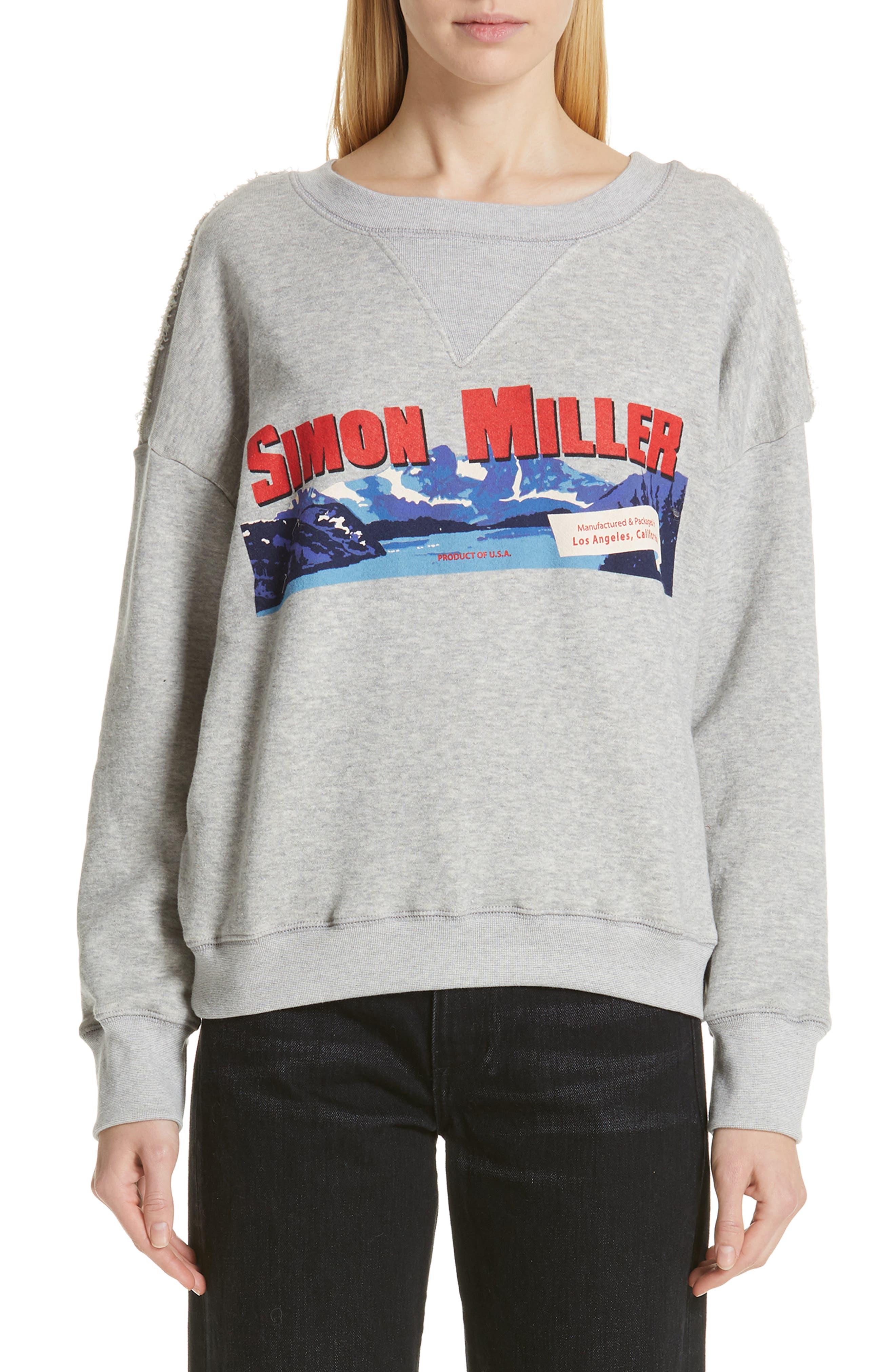 Simon Miller West Sweatshirt, Grey