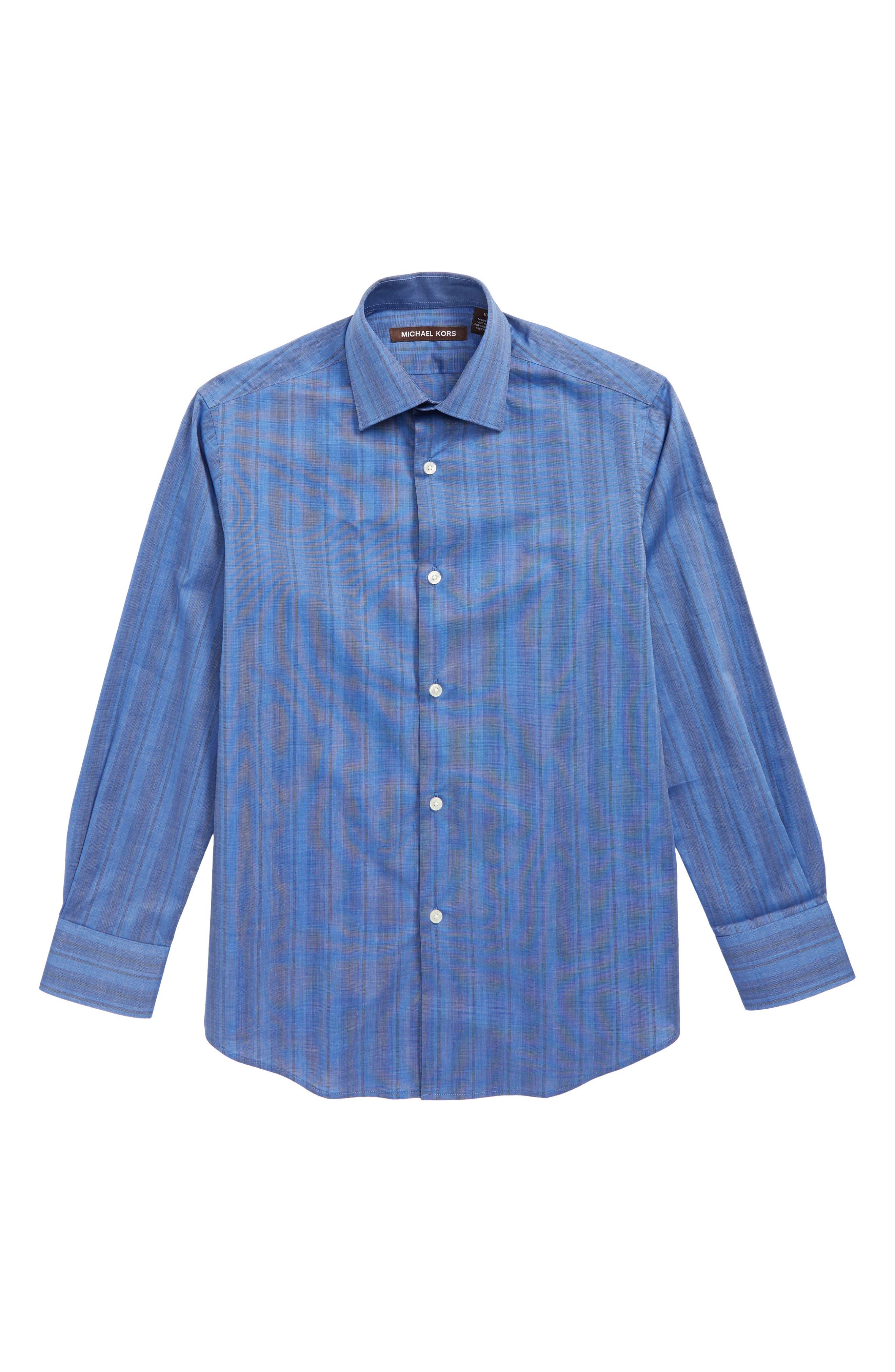 Image of Michael Kors Stripe Dress Shirt
