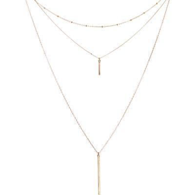 Panacea 3-Layer Bar Necklace