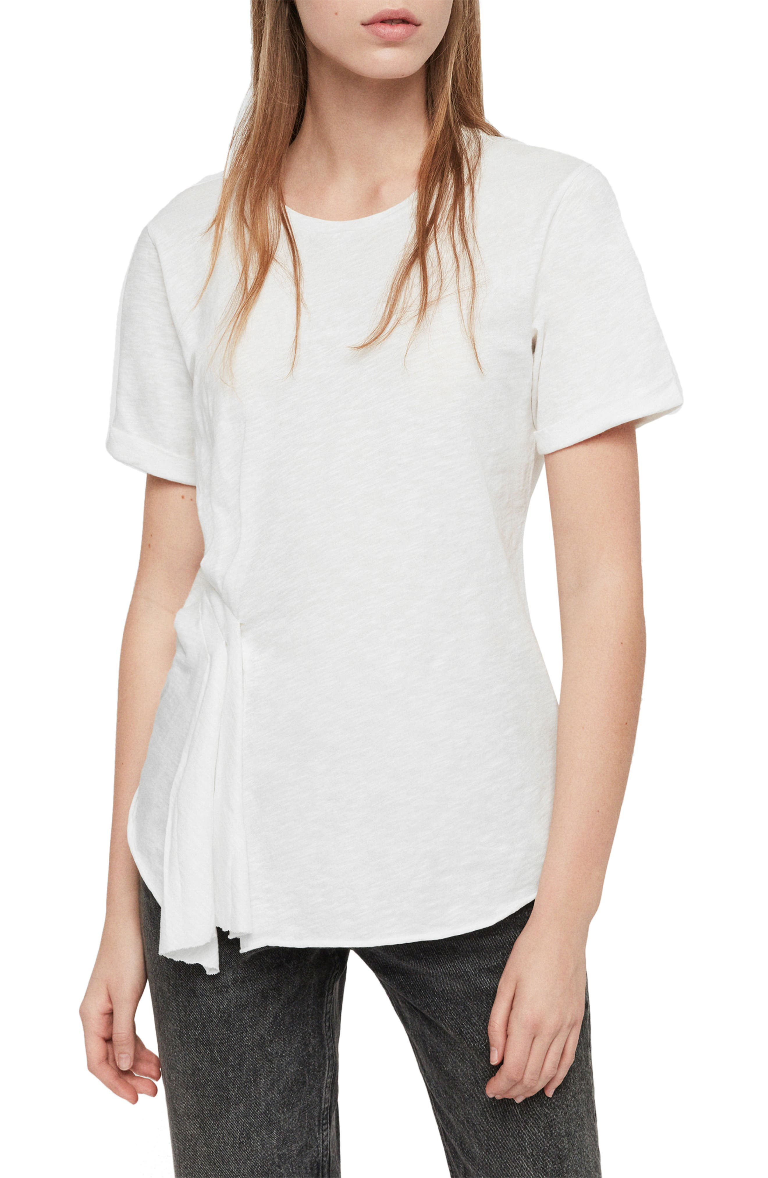 Robi Tee, Main, color, CHALK WHITE