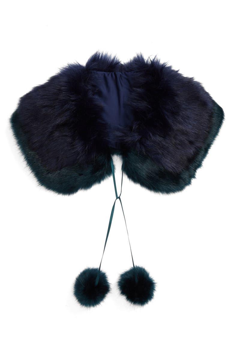 BP. Faux Fur Collar, Main, color, 410