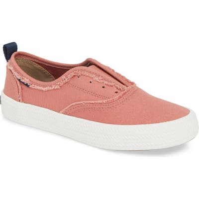 Sperry Crest Rope Laceless Sneaker, Red