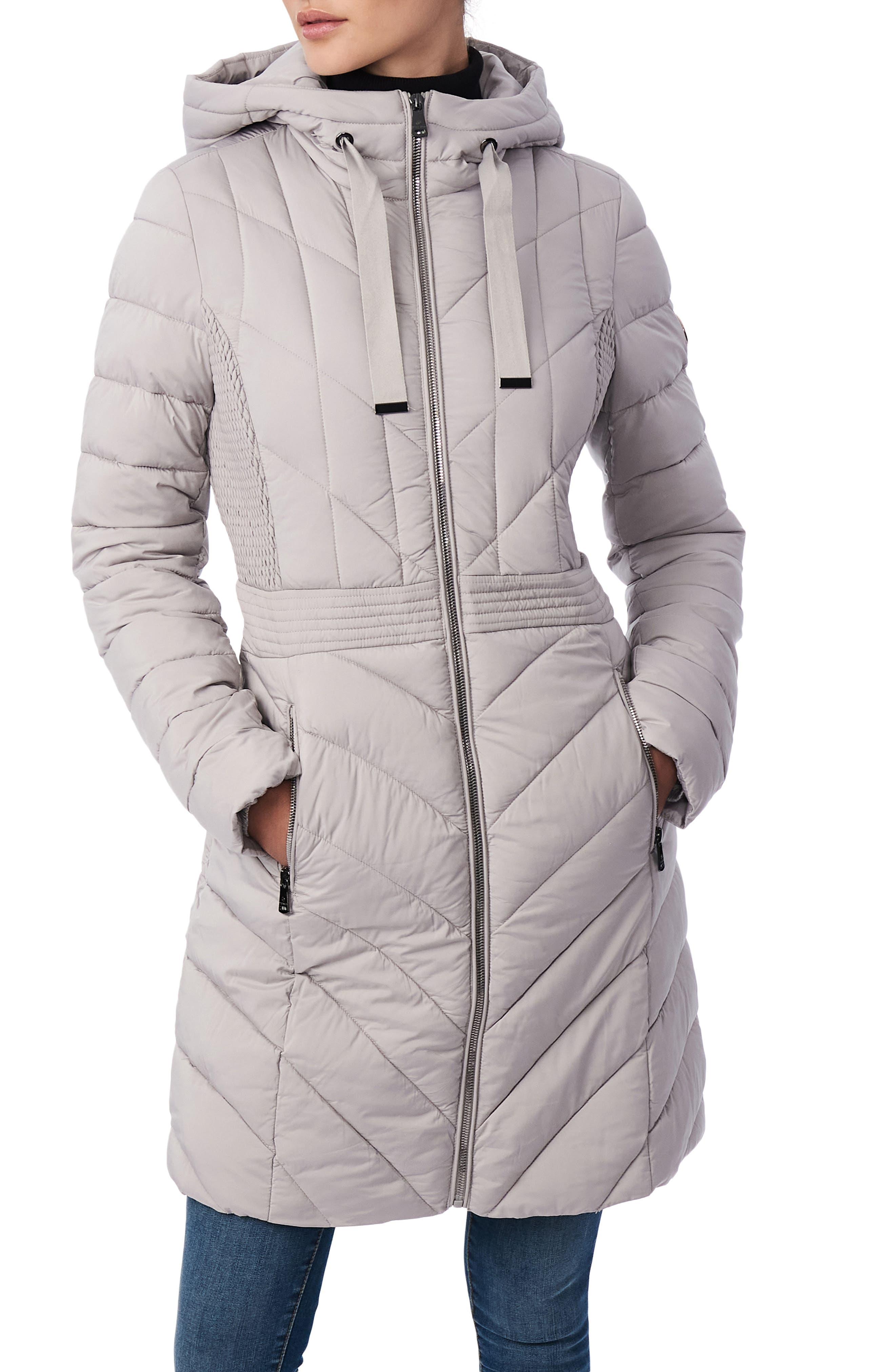 Packable Hooded Walker Coat
