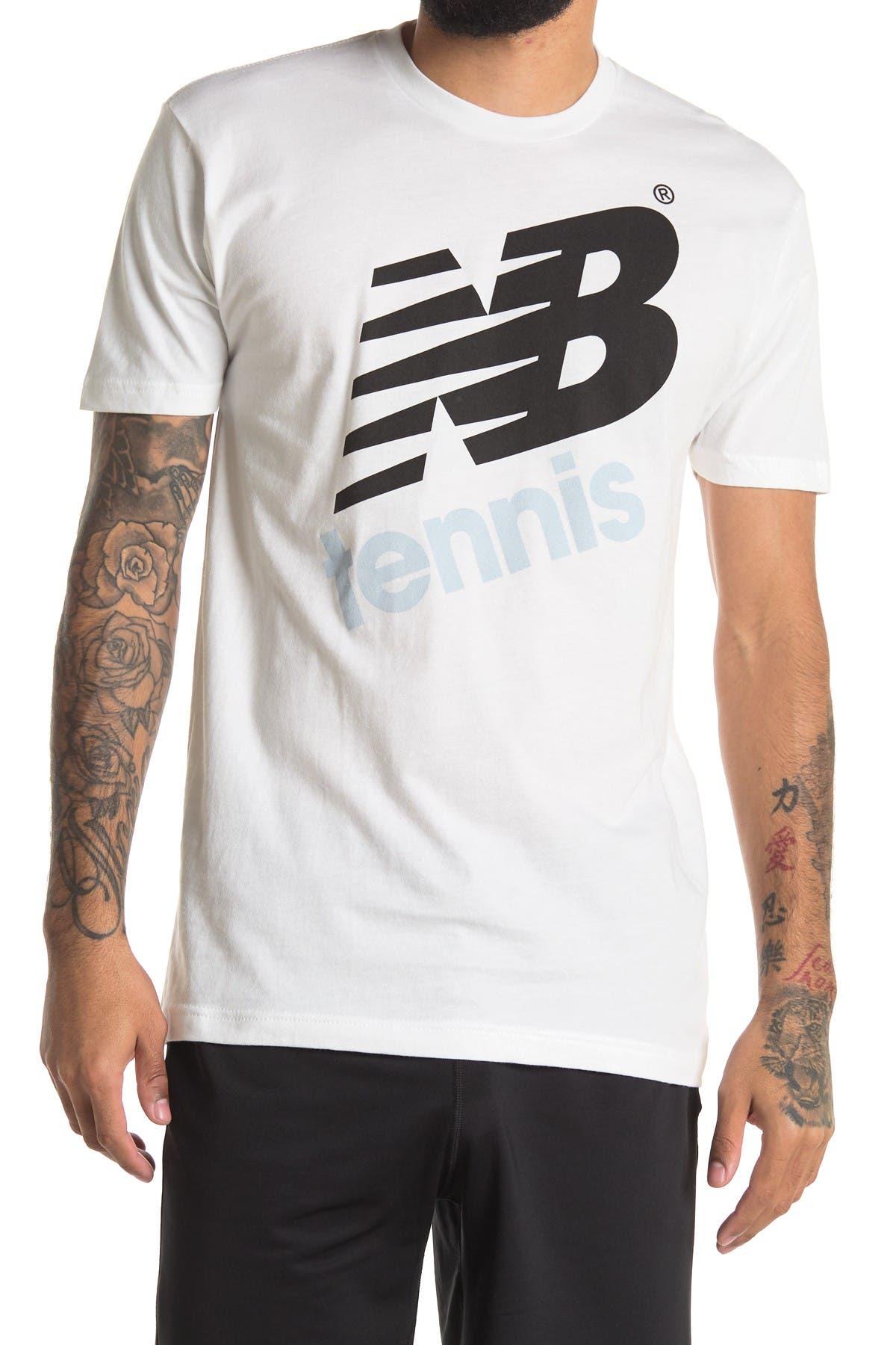 Image of New Balance Tennis Graphic T-Shirt