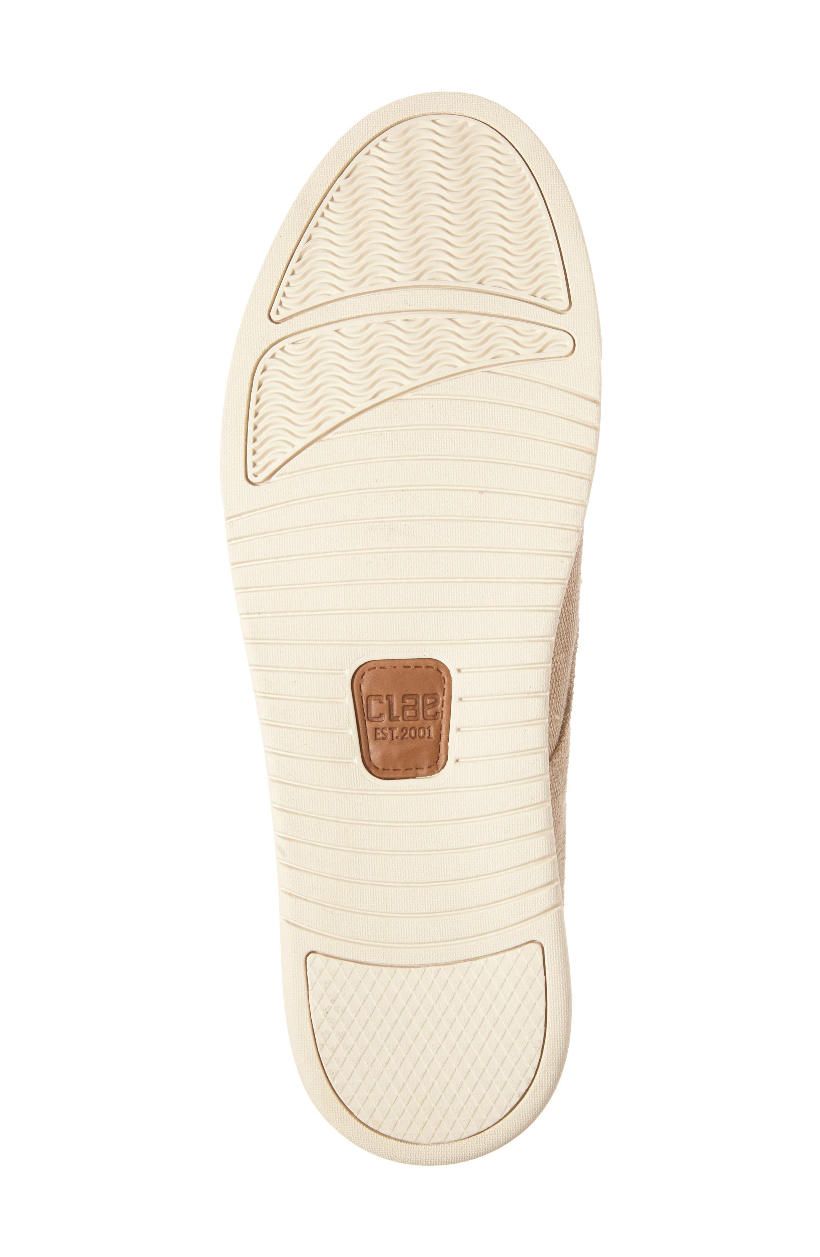 ,                             Ellington Sneaker,                             Alternate thumbnail 6, color,                             TAN HEMP CANVAS