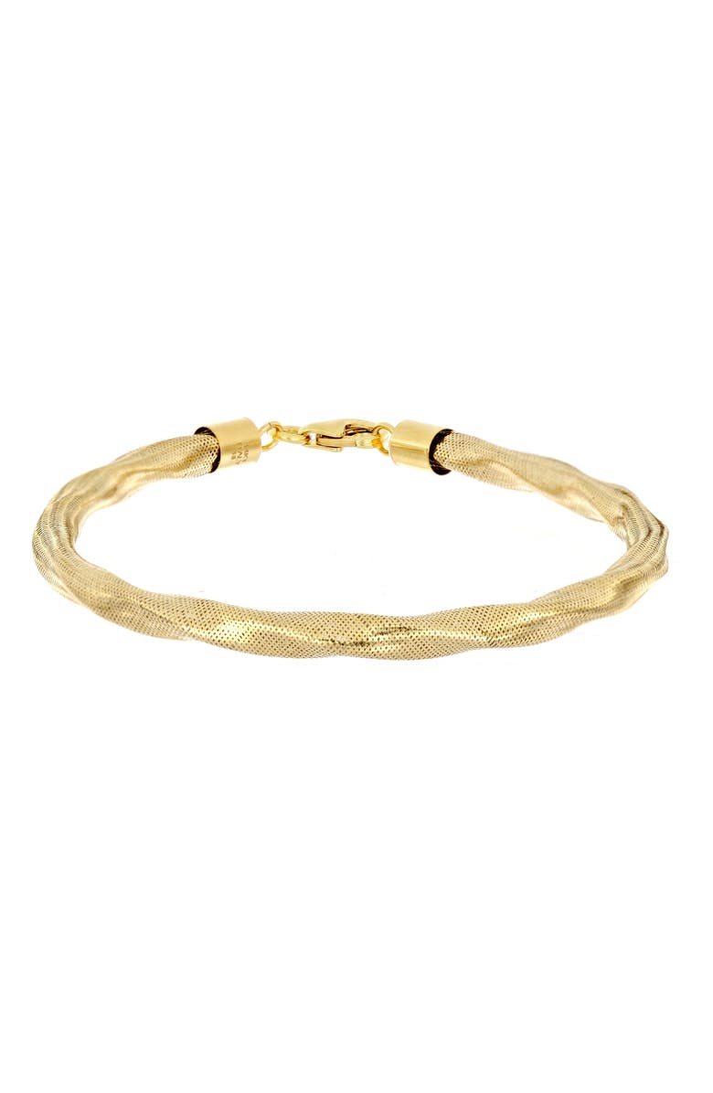 BONY LEVY 14K Gold Twisted Bracelet, Main, color, YELLOW GOLD