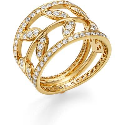 Temple St. Clair Vine Diamond Ring