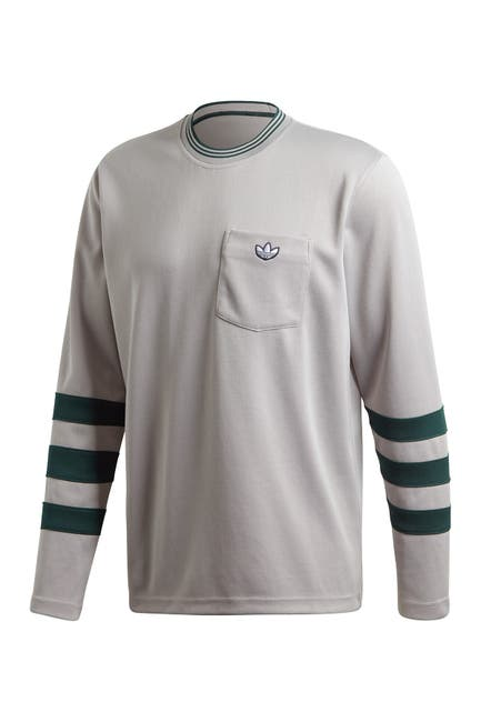 Image of adidas Striped Long Sleeve T-Shirt