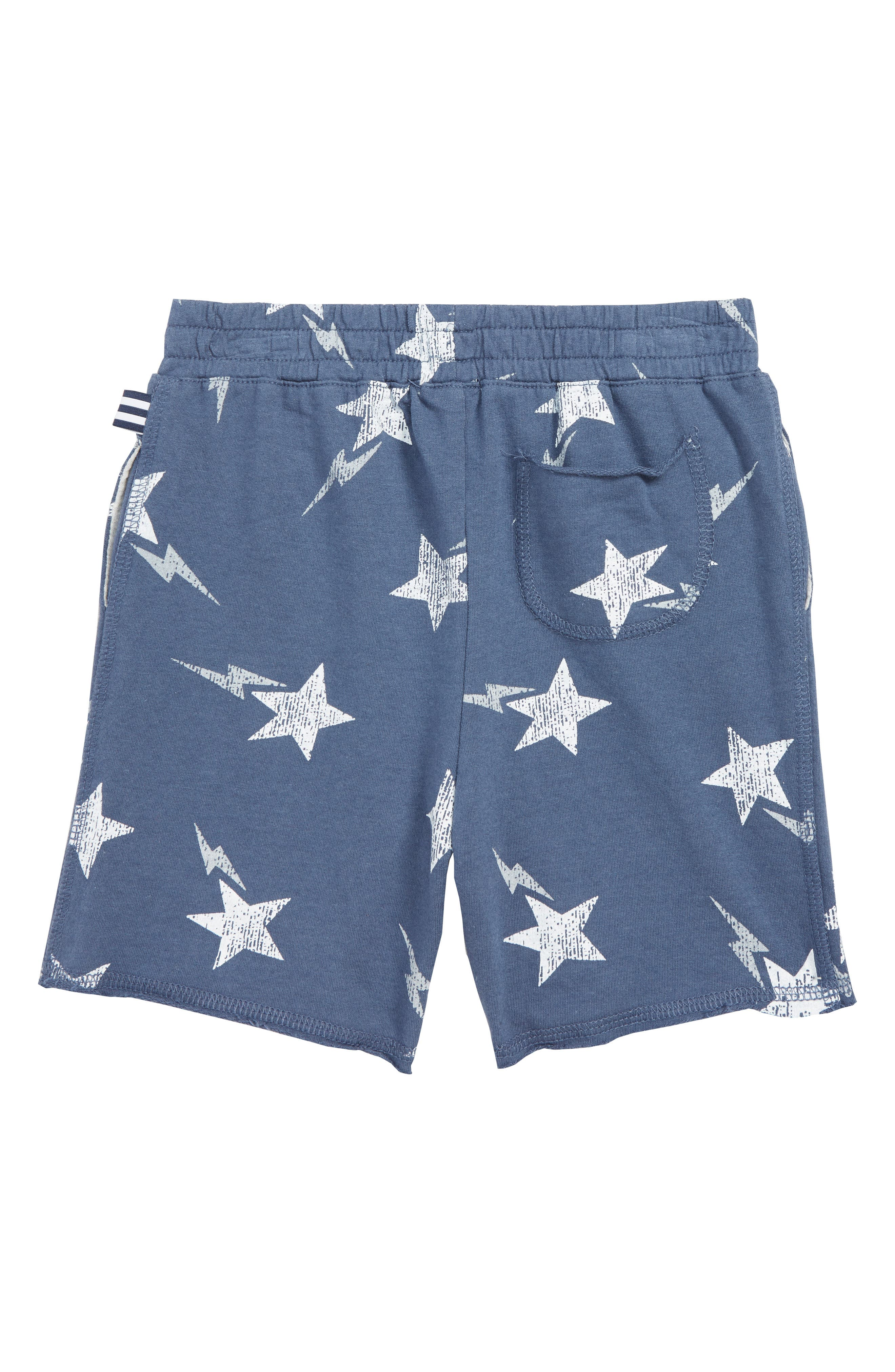 ,                             Galaxy French Terry Shorts,                             Alternate thumbnail 2, color,                             RAVEN BLUE