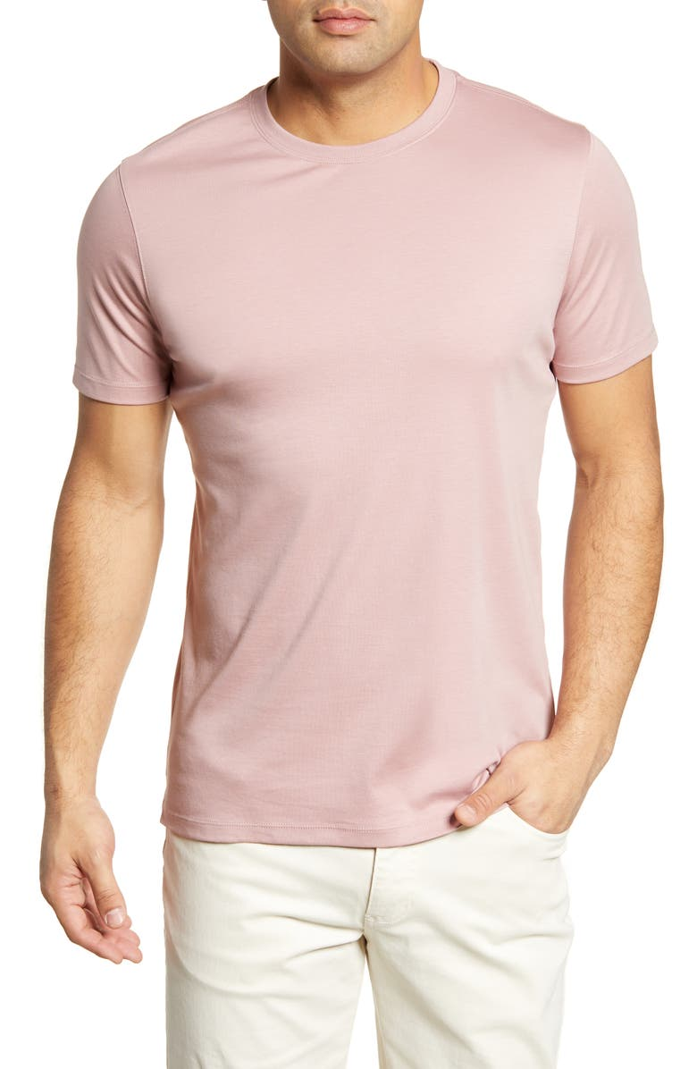 ROBERT BARAKETT Georgia Crewneck T-Shirt, Main, color, WOODROSE