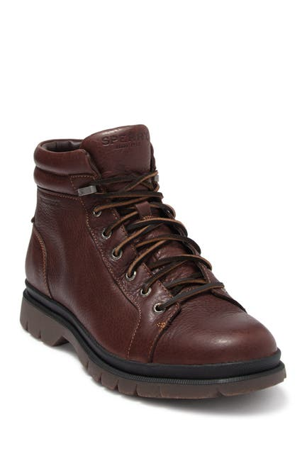 Image of Sperry Watertown Leather Lace-Up Boot